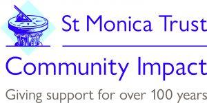 Logo from St.Monica's Trust