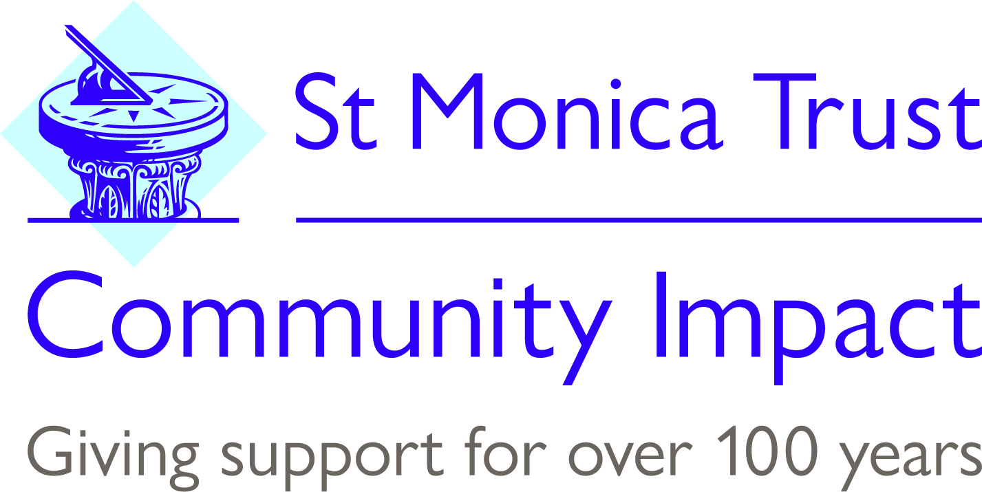 Logo from St.Monica's Trust