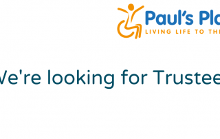 In writing: we're looking for Trustees